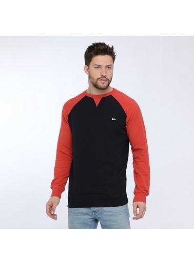 Quiksilver Erkek Sweatshirt Lacivert